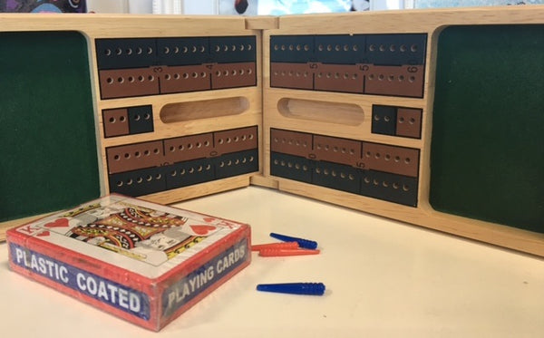 Colorful Grounds Creative Cribbage Boards