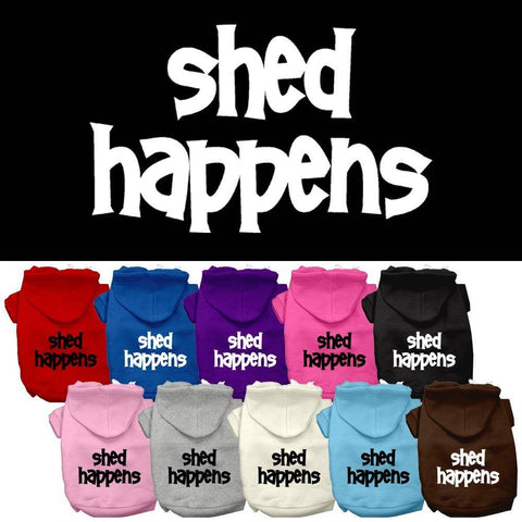 Shed Happens Pet Hoodies