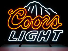 02.Coors light neon sign