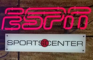 ESPN Sports Center Neon Sign Glass Tube Neon Light
