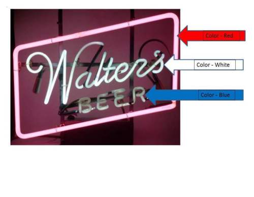 Walters beer Neon Sign real neon light