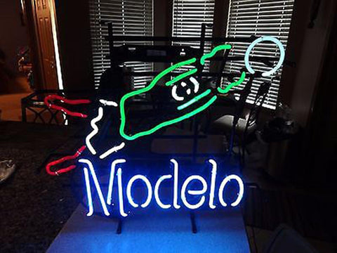 Man Cave Neon Signs For Sale : Modelo neon sign for sale custom signs bright