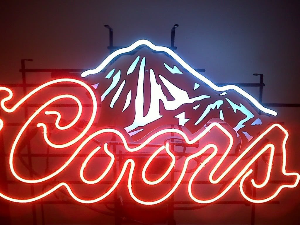 Coors Light Neon Sign Real Neon Light for sale – Hanto neon sign