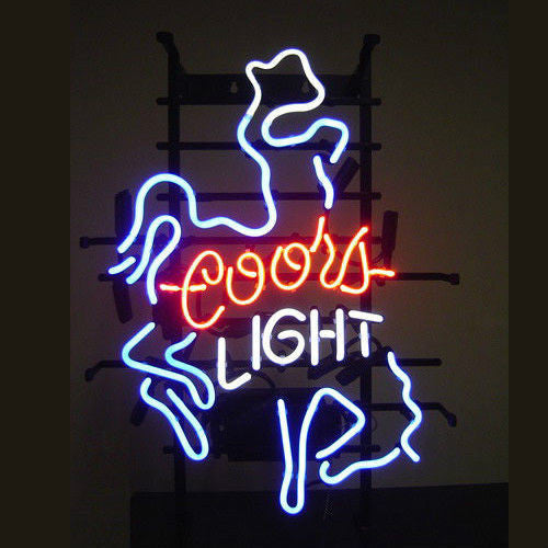 Neon Coors Light Signs: Brewed from the Rockies Before purchasing a Coors Light neon sign, custom or pre-made, it may be helpful to learn about the history of the beer that inspired our Coors Light beer signs .