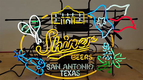 Shiner Beers San Antonio Texas Neon Sign Real Neon Light