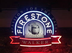 Firestone beer neon sign