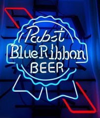07.Pabst blue ribbon neon sign