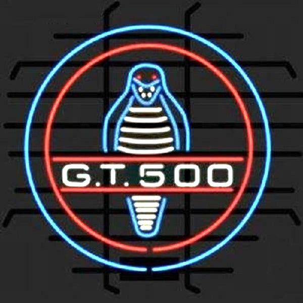 Ford Mustang Shelby Cobra Gt 500 Neon Sign For Sale Hanto
