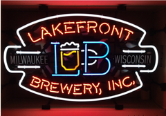 Lakefront Brewery Neon Sign