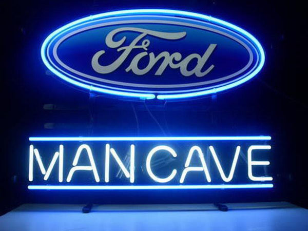 Man Cave Ford Dodge Mustang Auto Car Neon Sign For Sale