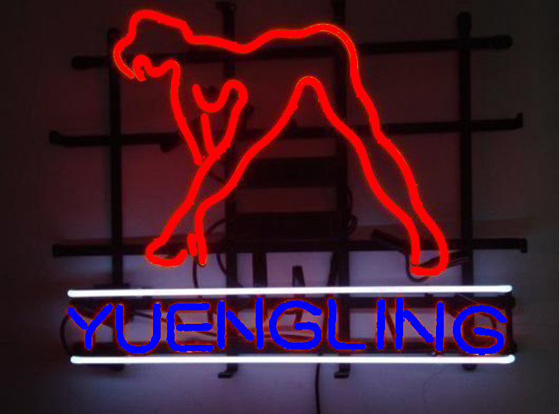 Neon Signs For Sale >> Yuengling Sexy Girl Beer Neon Sign