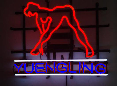 Yuengling Sexy Girl Beer Neon Sign