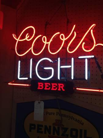 Coos light neon sign for sale custom neon signs bright neon signs sale z8612 coors light beer neon sign aloadofball Images