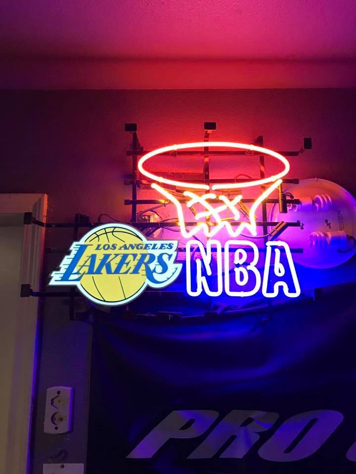 a2714bb8b3 Lakers Neon Sign Real Neon Light For Sale – Hanto neon sign
