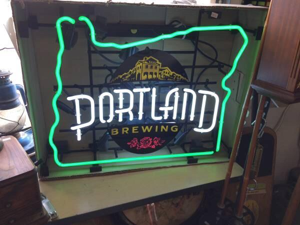 Portland Brewing Neon Sign Real Neon Light For Sale