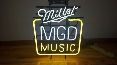 Man Cave Neon Signs For Sale : Miller lite neon sign for sale custom signs bright