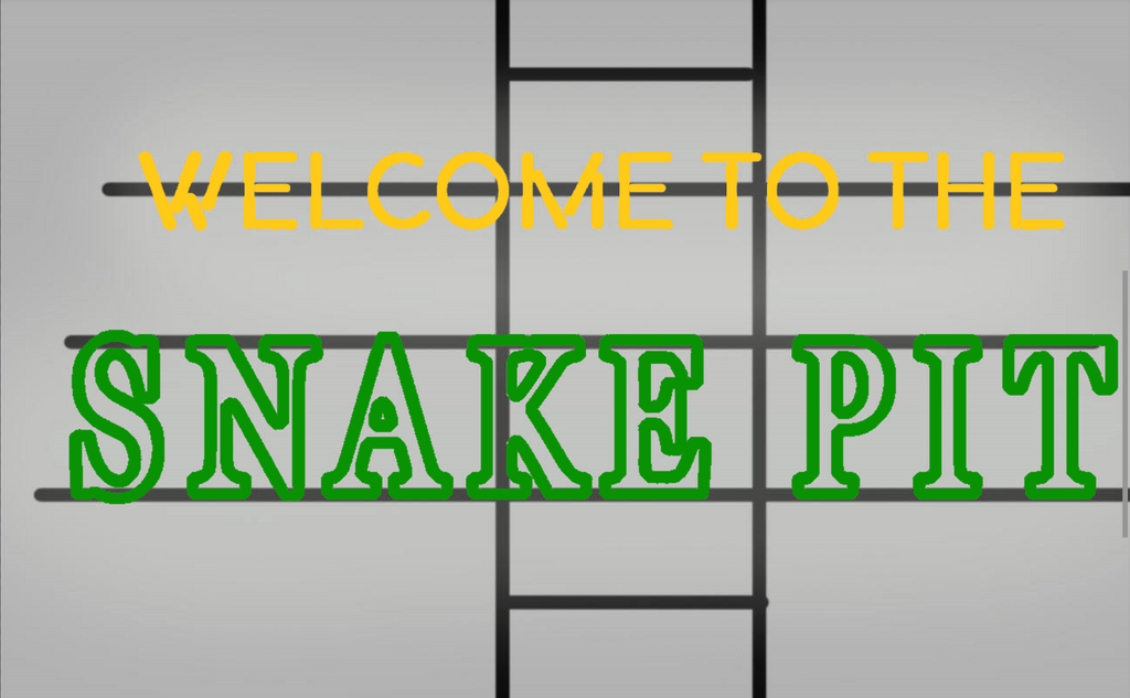 Welcome To The Snake Pit Neon Sign Real Neon Light