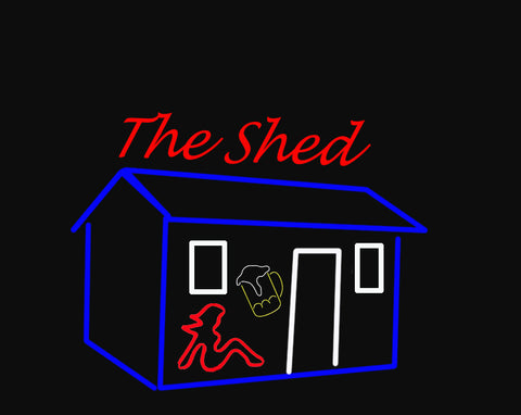 Custom The Shed Neon Sign Real Neon Light