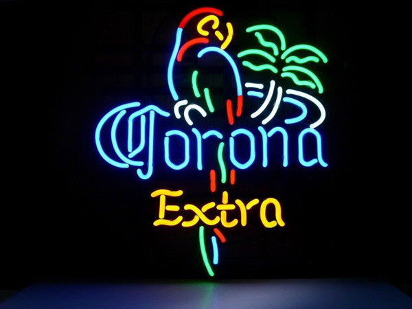 Corona light neon sign