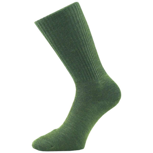 1000 mile combat running sock olive green