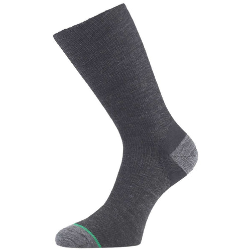 1000 mile ultimate lightweight walking socks charcoal
