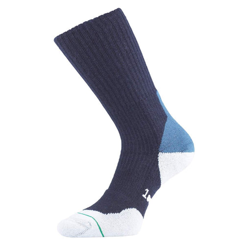 1000 mile navy blue blister-free fusion walking socks