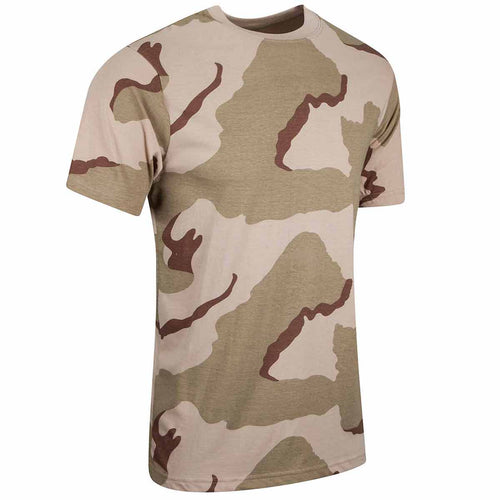 3 colour desert camo tshirt