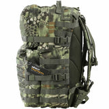 side view of kombat 40L raptorkam jungle molle assault pack