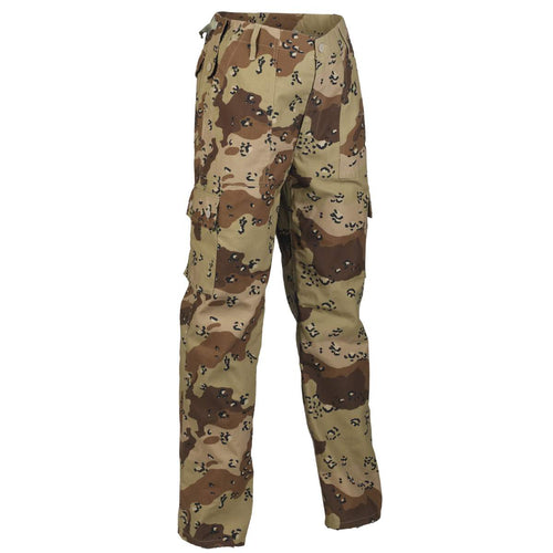 6 colour desert camo combat trousers