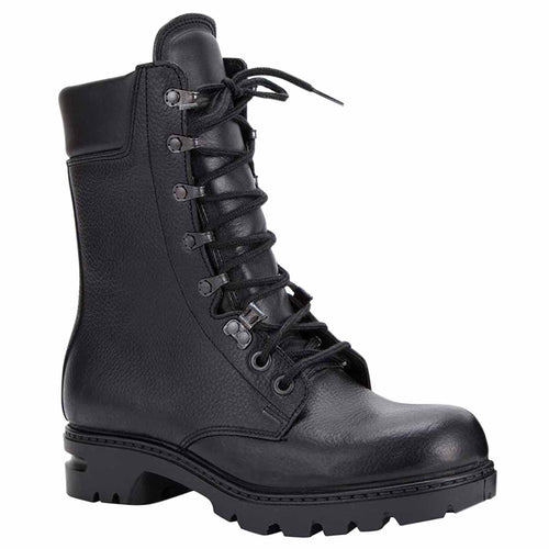 dutch m90 black leather combat boots