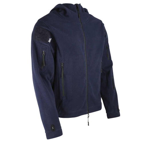 Kombat Recon Hoodie Navy Blue Front View