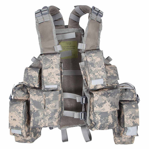 MFH South African Assault Vest ACU Front