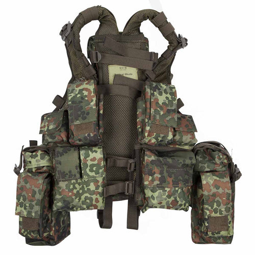 MFH South African Assault Vest Flecktarn Front