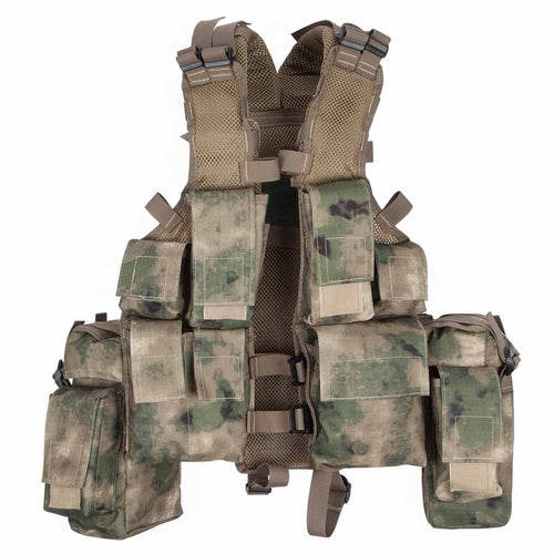 MFH South African Assault Vest HDT Camo Green Back