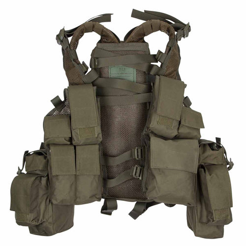 MFH South African Assault Vest Olive Green Front