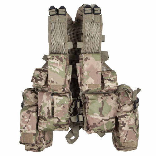 MFH South African Assault Vest Operation Camo Front