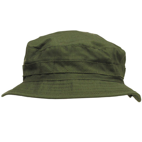 a8c1e9aa7ab Olive Green Boonie Bush Hat Short-Brim - Free UK Delivery