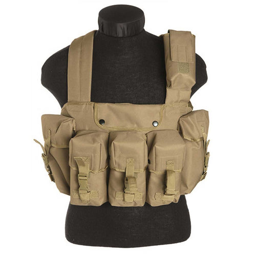 Mil-Tec Chest Rig Coyote Front