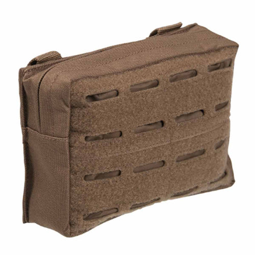 Mil-Tec Laser Cut Belt Pouch Dark Coyote Front