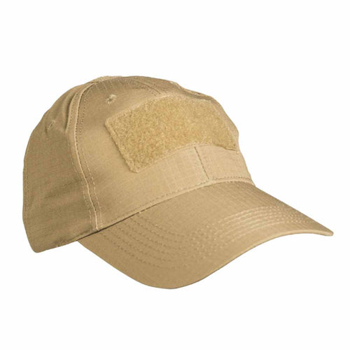Mil-Tec Tactical Baseball Cap Coyote Angle