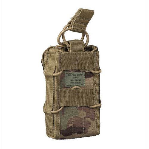 Mil-Tec Open top Single Magazine Pouch Multitarn