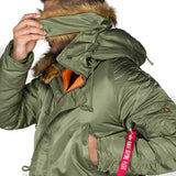 removable fur trim on alpha n3b vf59 parka