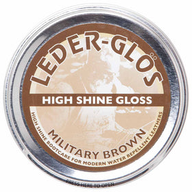 military brown altberg leder glos polish