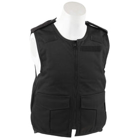 black overt stab bullet proof vest body armour
