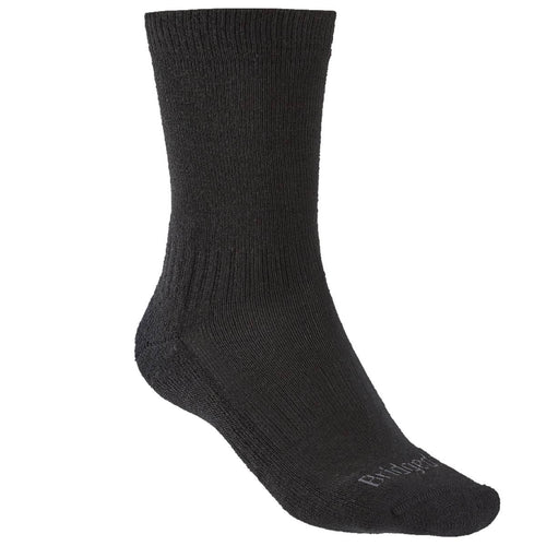 bridgedale hike lightweight boot sock black