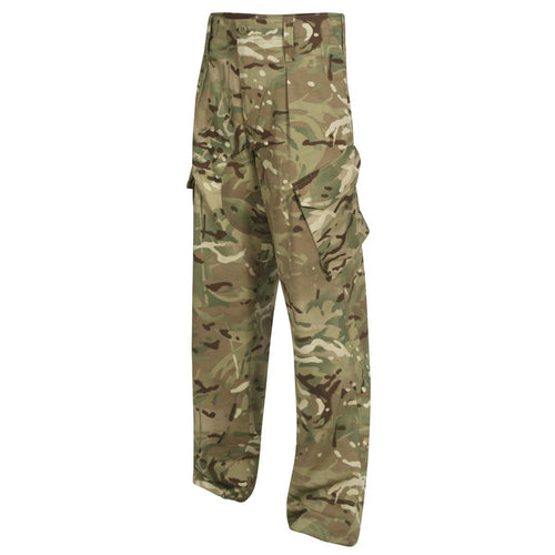 British Army warm weather MTP camouflage trousers used