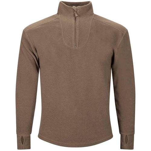 british army pcs fleece thermal undershirt olive