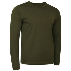 British Army Thermal Vest Long Sleeved Olive Green