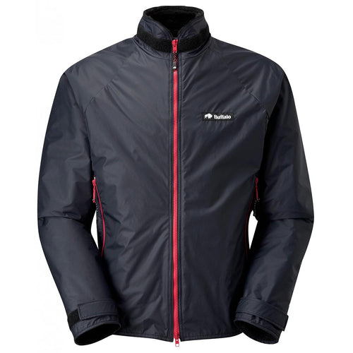 buffalo belay jacket special edition black red