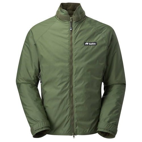 buffalo belay jacket olive green